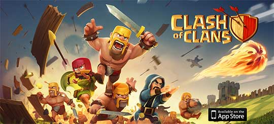 Knights of Terror and Clash of Clans